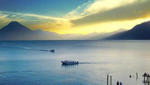 Le lac Atitlan.