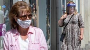 En Irlande, le taux de contamination pour 100—000 habitants vient de dépasser celui du Royaume-Uni (photo d'illustration).