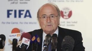 Joseph Blatter presidente da FIFA