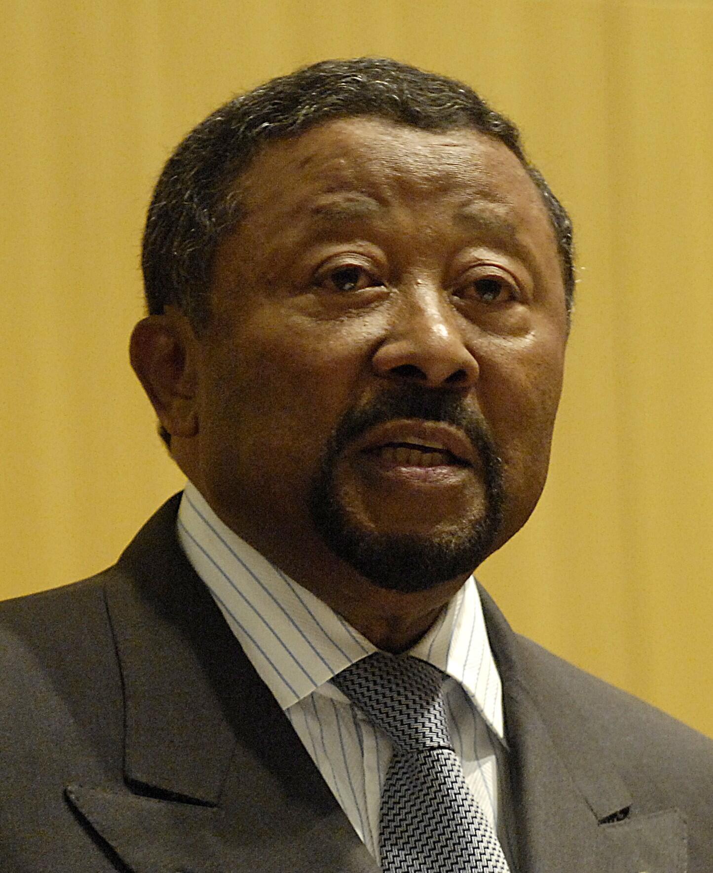 L'opposant gabonais Jean Ping, a rencontré plusieurs ex-barons du parti d'Ali Bongo, le 24 avril 2014.