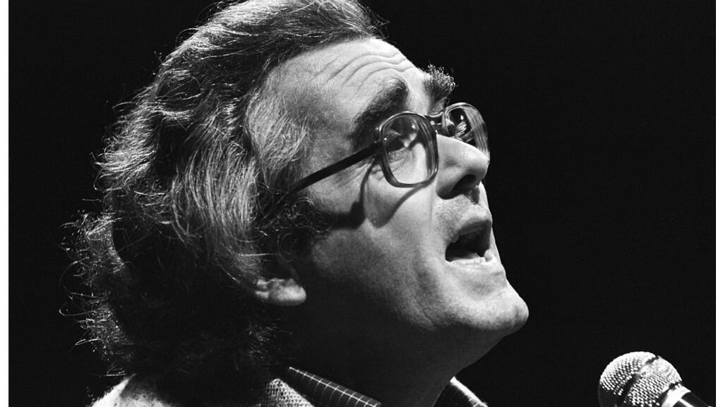 Michel Legrand à Varsovie, en Pologne, le 5 septembre 1977.