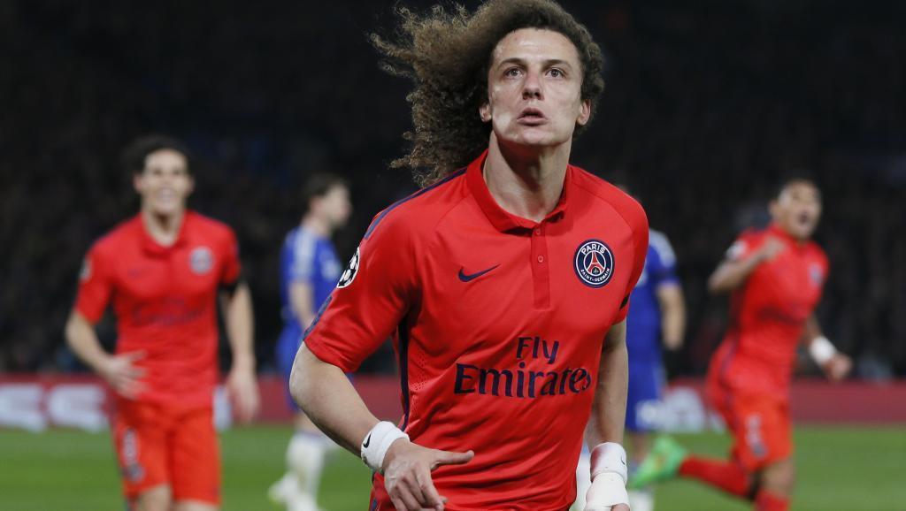 O zageuro do PSG David Luiz.