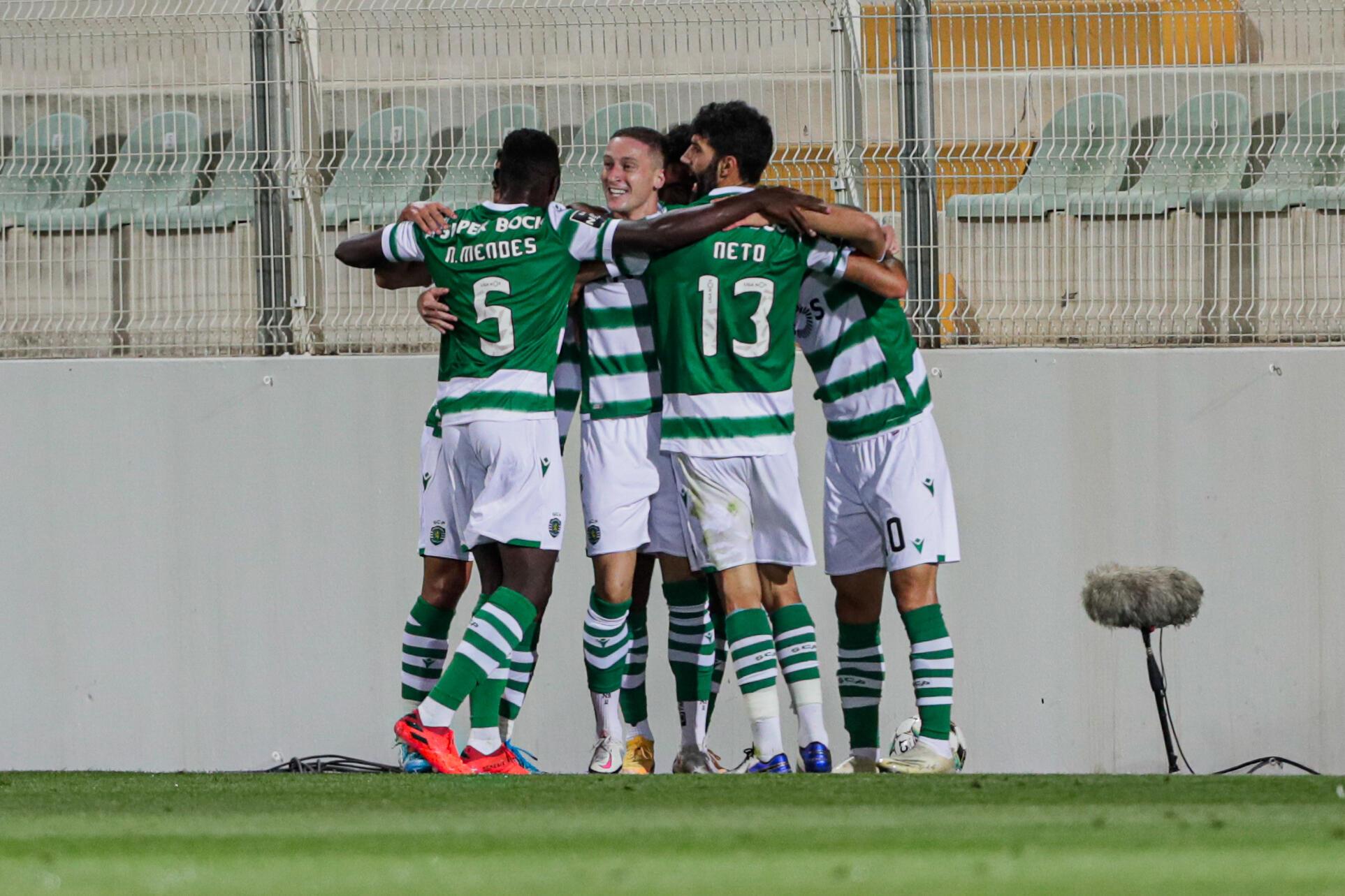 O Sporting CP venceu por 0-2 na deslocação ao terreno do Portimonense.