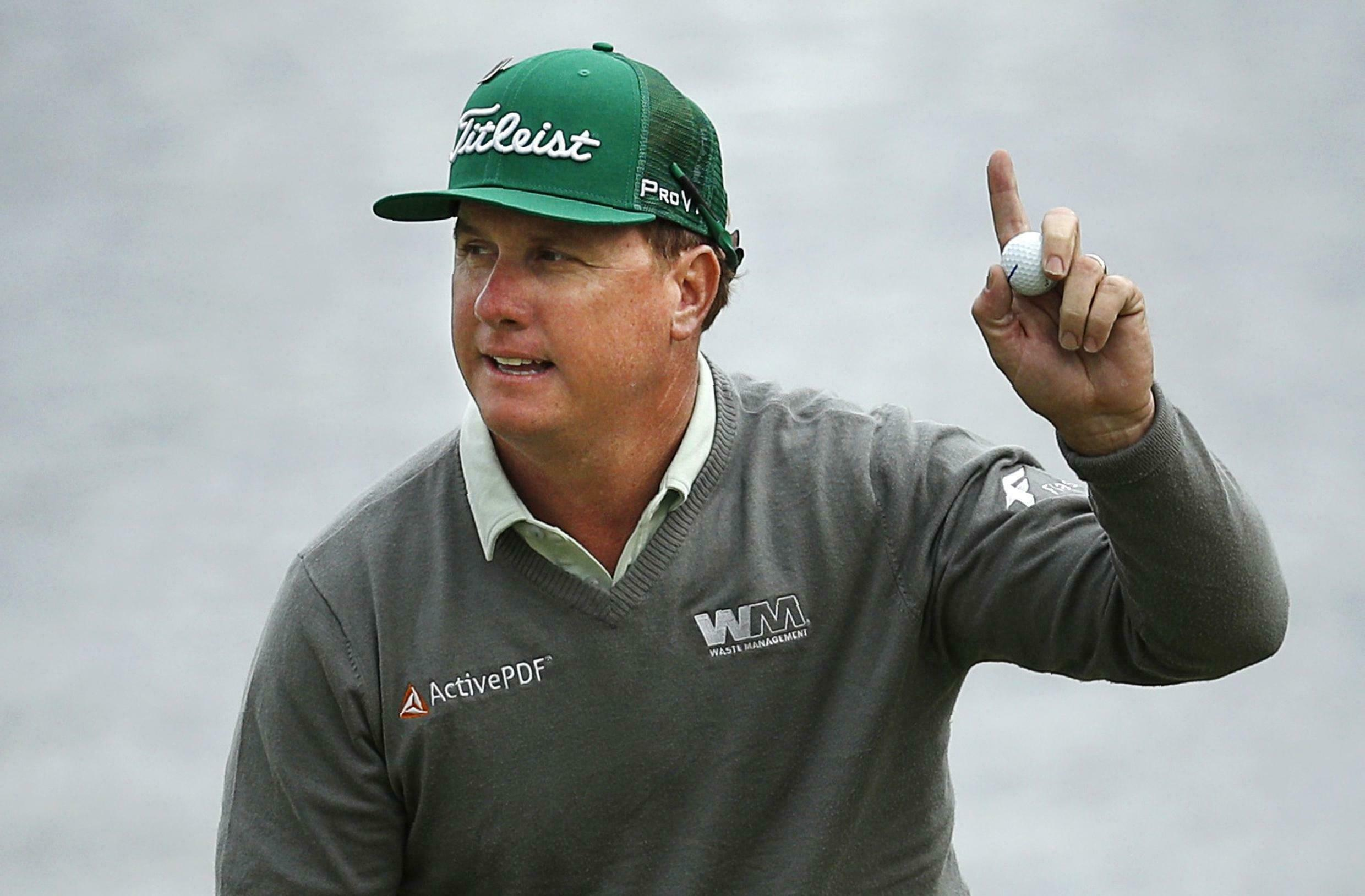 Charley Hoffman carved out the biggest first day lead at the Masters since 1955.