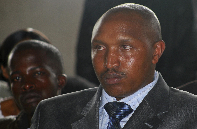 Mbabe wa Kivita kutoka Nchini Jamhuri ya Kidemokrasia ya Congo DRC Jenerali Bosco Ntaganda akisubiriwa kupelekwa katika Mahakama ya Kimataifa ya Uhalifu wa Kivita ICC