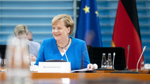 La canciller alemana, Angela Merkel, el 26 de agosto de 2020 en Berlín