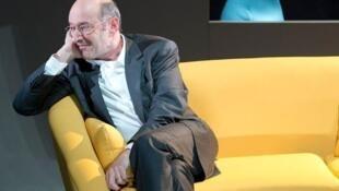 Gilles Gaston-Dreyfus dans la pièce «Couple», à voir au Théâtre du Rond Point.