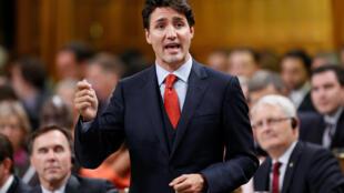 El primer ministro canadiense ante el Parlamento en Ottawa, el pasado 20 de octubre de 2016.