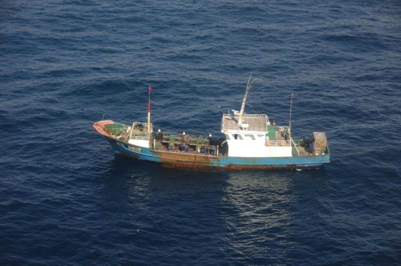 Tuần duyên Nhật Bản bắt giữ một tàu đánh cá Trung Quốc (REUTERS)