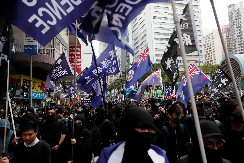 Violentas manifestações tomaram conta de Hong Kong em 2019