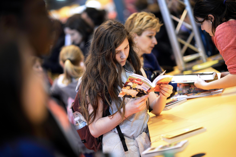 نمایشگاه کتاب پاریس در سال ۲۰۱۴