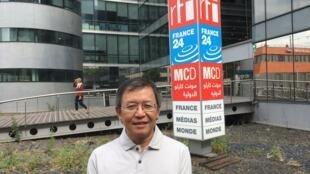 Pham Minh Hoang, blogueur et opposant franco-Vietnamien expulsé le samedi 24 juin 2017 vers la France.