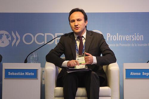 El economista de la OCDE Sebastián Nieto Parra.