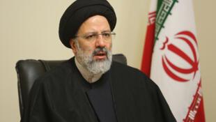 ابراهیم رئیسی رئیس قوۀ قضائیه ایران.
