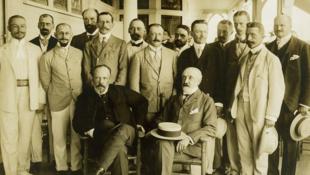 Российская делегация в Портсмуте, 1905 год.