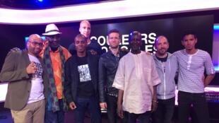 Toure Kunda et leurs musiciens, Claudy Siar et Pascal Archimède