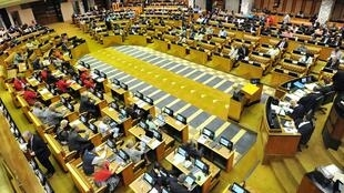 South African Parliament in session