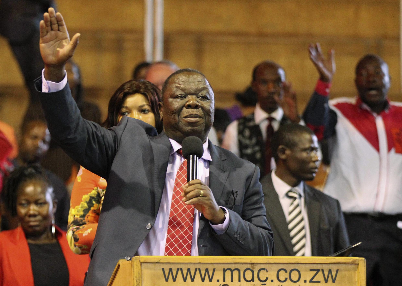 Morgan Tsvangirai in 2014