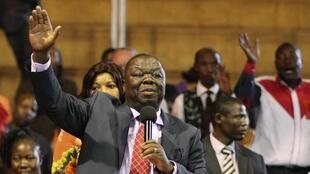 Morgan Tsvangirai in 2014