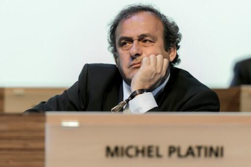 Tsohon dan wasan Faransa Michel Platini, 11 ga watan Yuni shekarar 2014