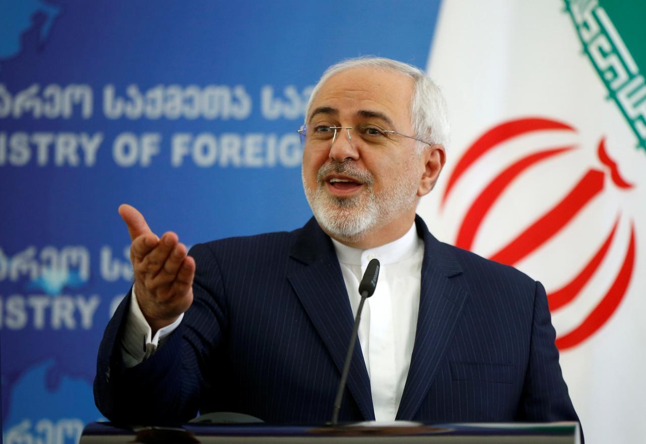 Waziri wa Mambo ya nje wa Iran  Mohammad Javad Zarif