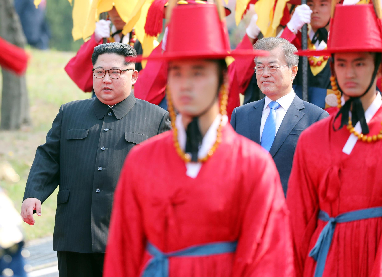 Hàn Quốc tiếp lãnh tụ Bắc Triều Tiên với nghi lễ chuyến viếng thăm cấp Nhà Nước.