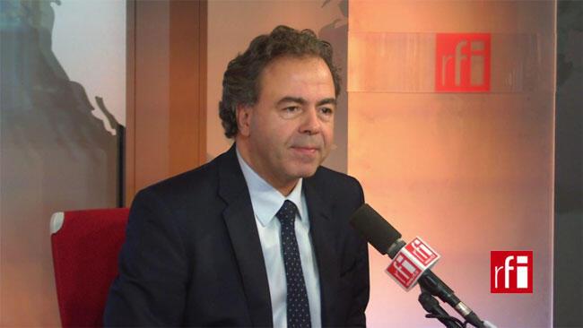 Luc Chatel, député de la Haute-Marne et vice-président de l'UMP