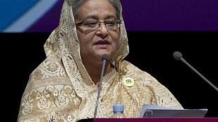 Firayi ministar Bangladesh Sheikh Hasina