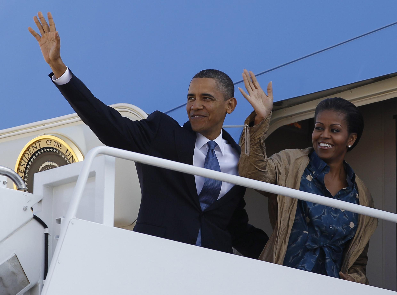O presidente norte-americano, Barack Obama, viaja para Índia, Indonésia, Coreia do Sul e Japão.