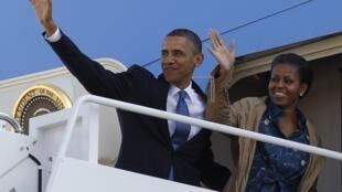 奥巴马启程访问亚洲四国