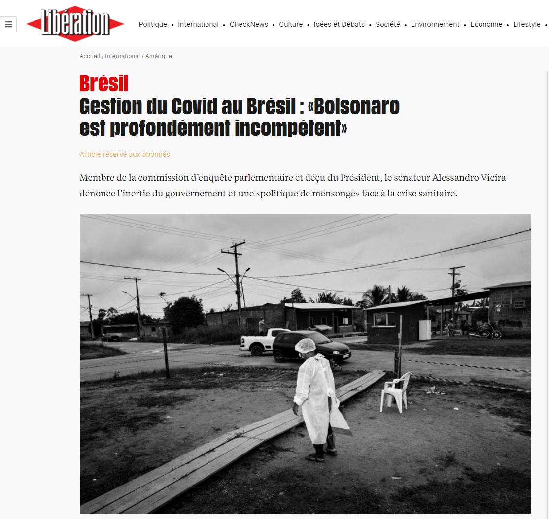 Libération covid brasil