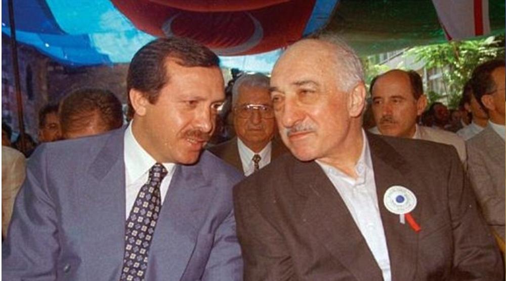 گولن و اردوغان در کنار هم