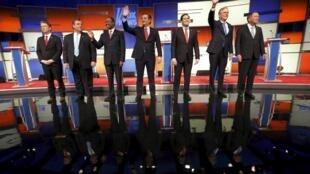 O último debate republicano à sucessão de Barack Obama antes dos primeiros votos das primárias de Iowa.