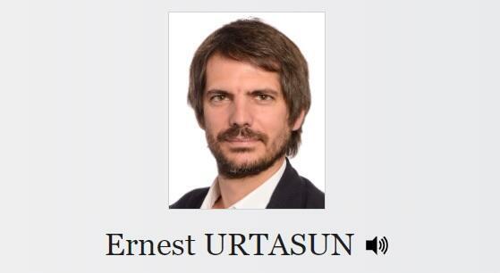 El eurodiputado ecologista Ernest Urtasun.