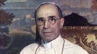 Eugenio Pacelli, elegido papa el 2 de marzo de 1939 con el nombre de Pío XII.