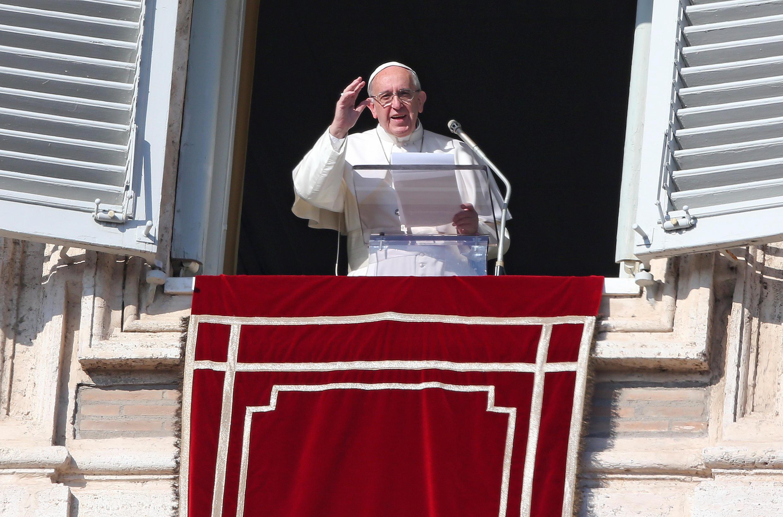 Папа Франциск, Ватикан, 8 декабря 2016.