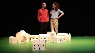 La pièce «Saint-Félix - Enquête sur un hameau français» se joue actuellement au théatre de la Tempête jusqu'au 14 avril.