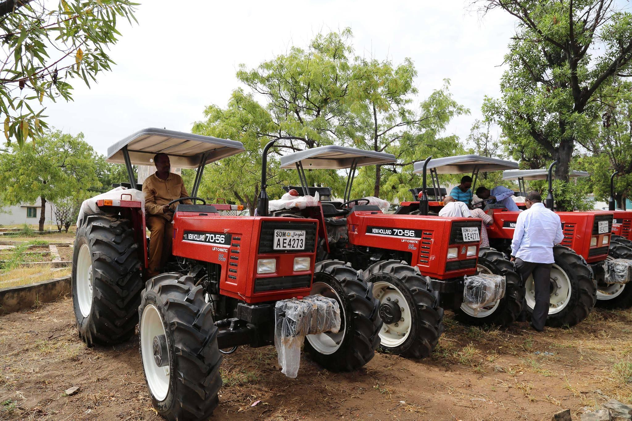 A local bank announced it was giving brand-new tractors as a loan to farmers