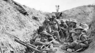 سنگری از جنگ جهانی اول