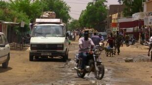 Una calle de la ciudad de Gao, en el norte de Malí, el 22 de julio de 2016.