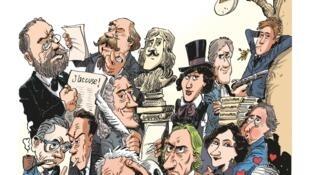 «L'Incroyable Histoire de la littérature française» de Catherine Mory et Philippe Bercovici raconte la vie et les oeuvres des plus grands auteurs français du XVIe au XXe siècles.