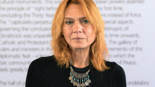 Asli Erdogan in Germany on 22 September 2017.