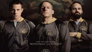 Affiche du film « Foxcatcher » de Benett Miller .