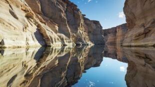 lac Powel Arizona canyon environnement États-Unis