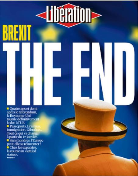 """""""Está terminado. E, ao mesmo tempo, acabou de começar"""", afirma a reportagem do Libération."""