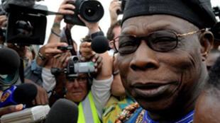 Olusegun Obasanjo in 2008