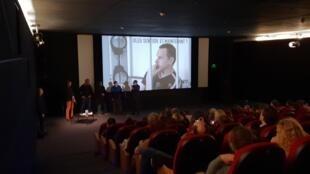 В презентации фильма приняли участия режиссер Кристоф Ружжиа, а также посол Франции по правам человека Франсуа Крокет