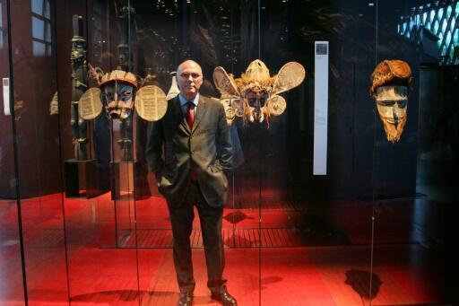 Stéphane Martin, ancien président du Musée du Quai Branly-Jacques Chirac à Paris (5 juillet 2006).