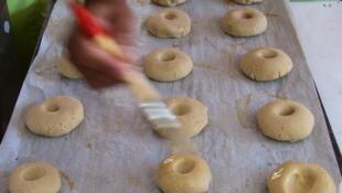 Пекарский конкурс на празднике хлеба