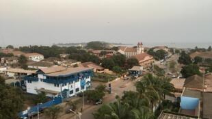 Vue sur Bissau, en Guinée-Bissau.